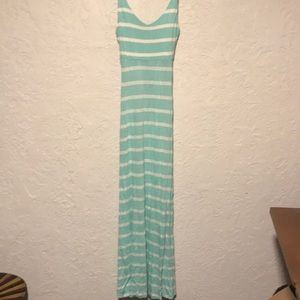 NBW Forever 21 mint striped Maxi